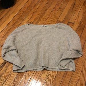 GAP oatmeal crop sweater M